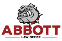 abbott law office lawdog logo