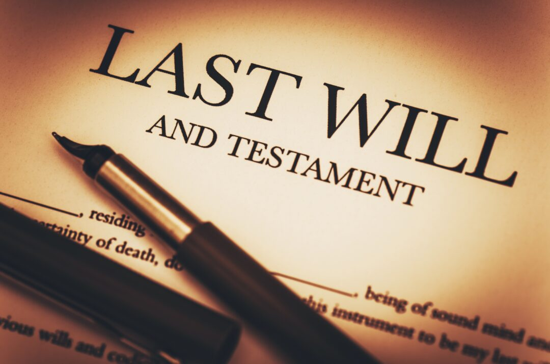 Last Will and Testament will and trust law